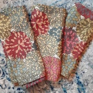 Flower Valance Curtains set